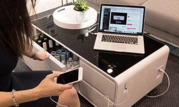 Table basse connectée : l'accessoire totalement indispensable dans son salon !