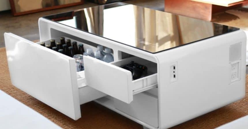 Table basse connectée sobro