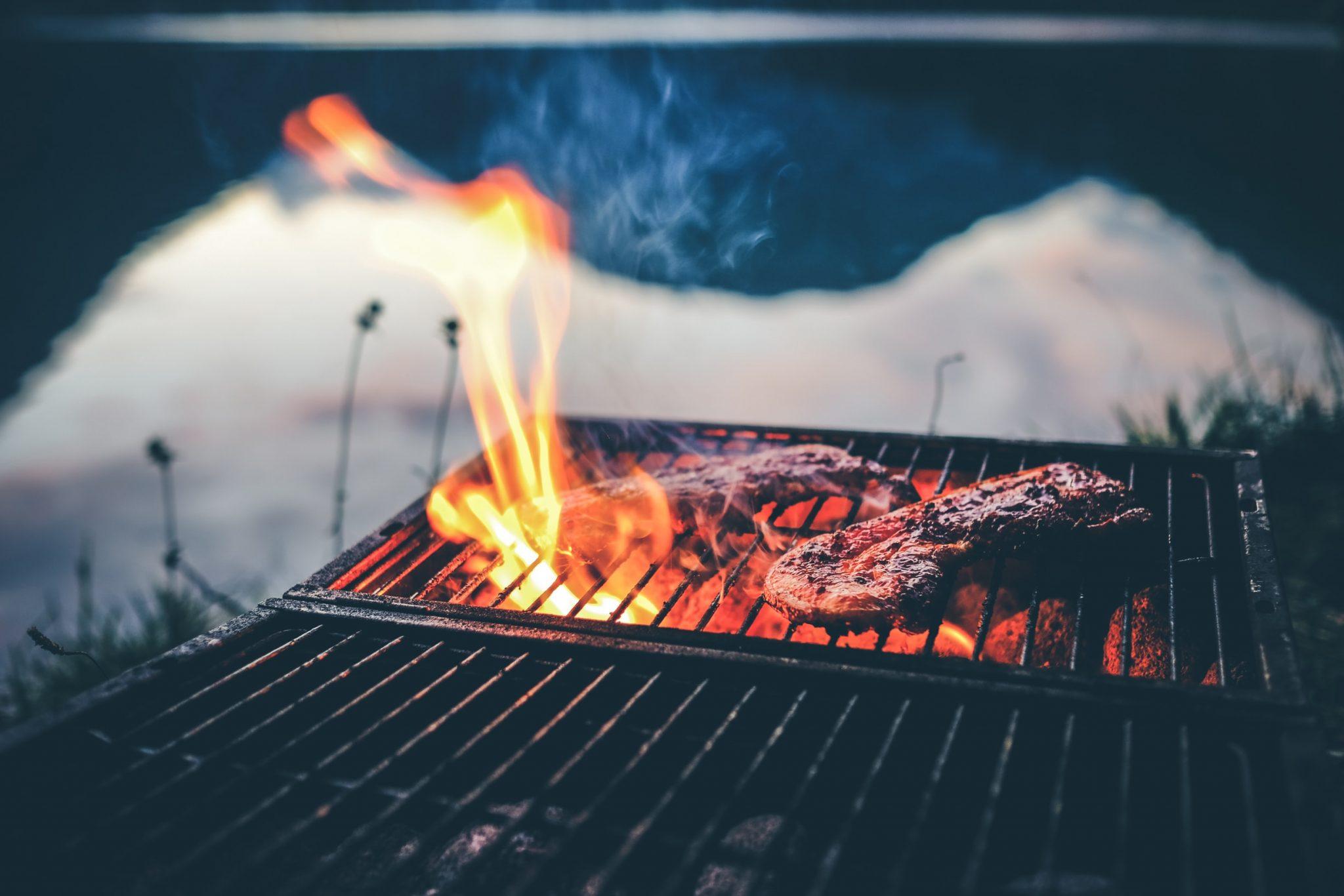 Barbecue connecté