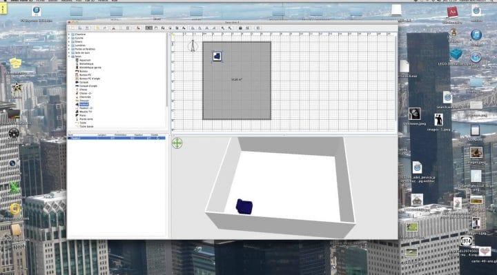 Le logiciel Sweet Home 3D