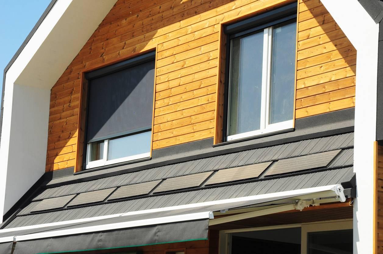 volet solaire maison