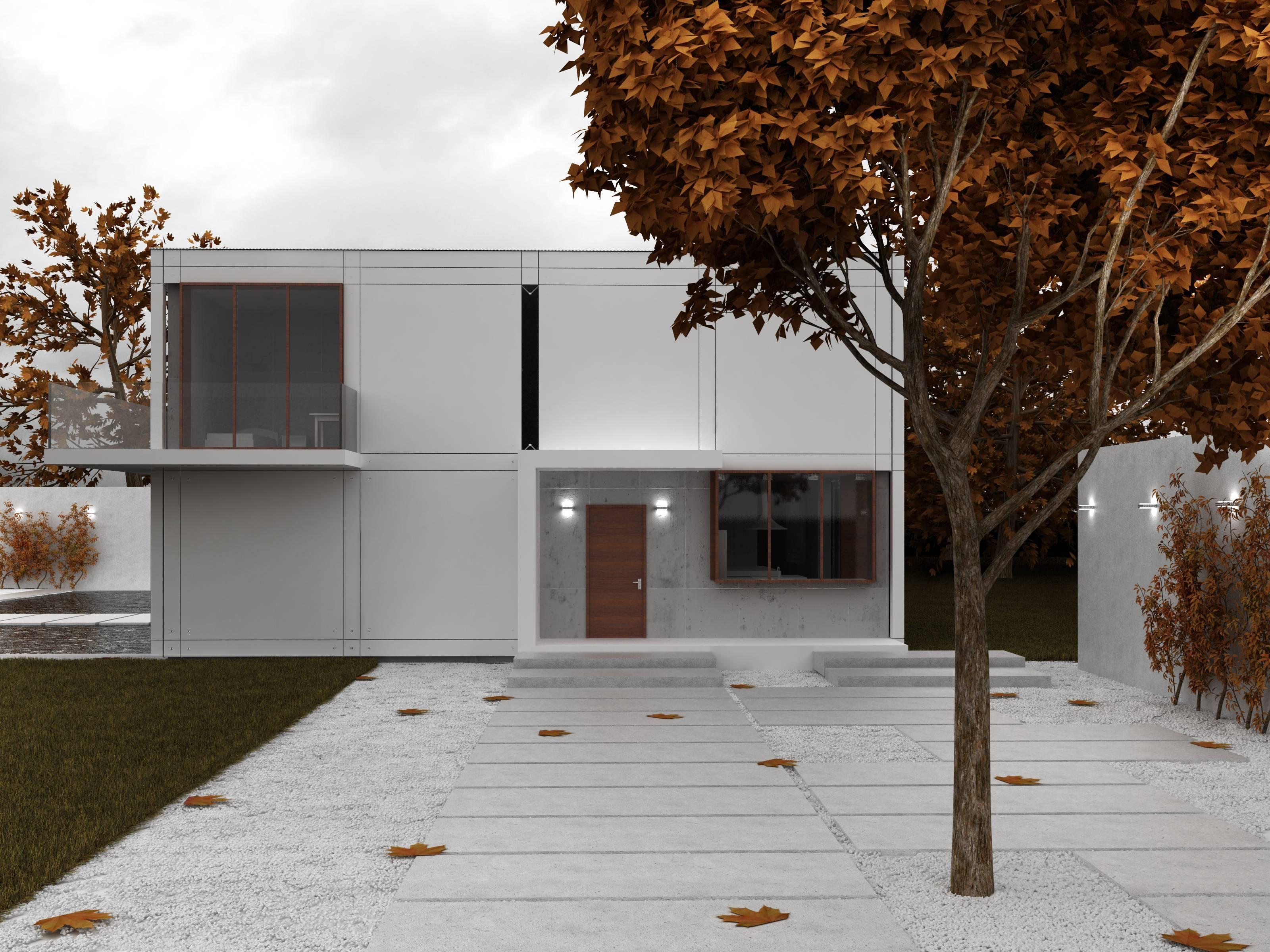 architecture maison cubique