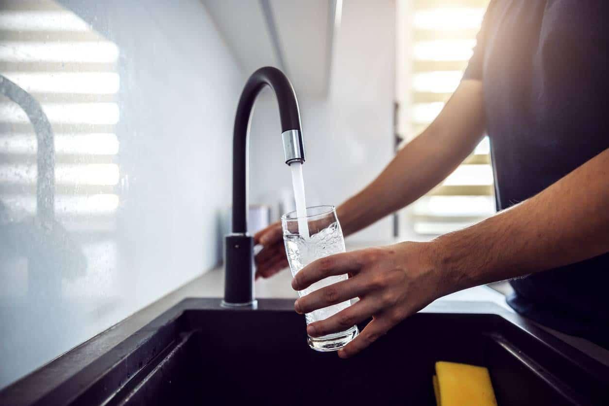 calcaire eau robinet adoucisseur d'eau